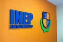 Recepción del Centro Educativo INEP - San Miguel