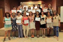 Entrega de Diplomas Curso de Química Cosmética para Cosmetólogos y Cosmiatras