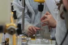 Clase práctica Carrera de Químico Cosmético