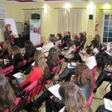 """En el marco de nuestro programa Cultura de paz realizamos el curso """"Educar en Derechos Humanos: desafío pedagógico y ético en la sociedad actual"""" facilitado por la prestigiosa Dra. Alicia Cabezudo."""