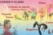 Cursos de fitness y ritmos